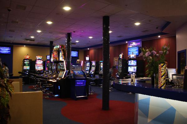 В казино сектор чёрный
